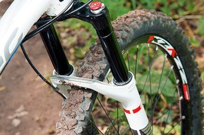 DT Swiss fork feels precise over smoother trails