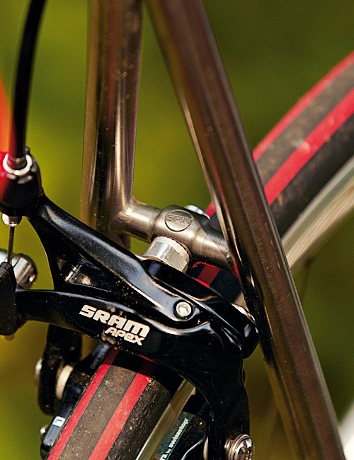 Our test bike came with a SRAM Apex groupset but the choice is yours