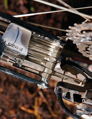 The B adjustment screw allows you to set the distance of the derailleur from the cassette