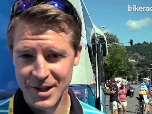 Magnus of Shimano Europe was kept busy during last month's Tour de France