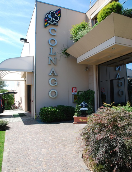 The Colnago offices and warehouse in Cambiago, outside of Milan