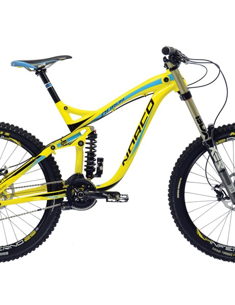 The Aurum is Norco's new World Cup downhill bike