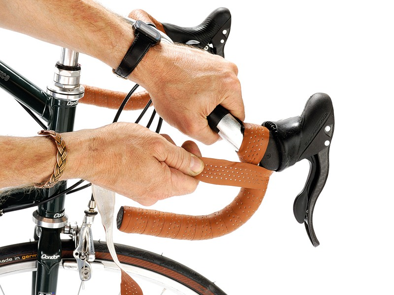 Go natural: use leather bar tape