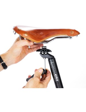 Install and care for a full-leather saddle