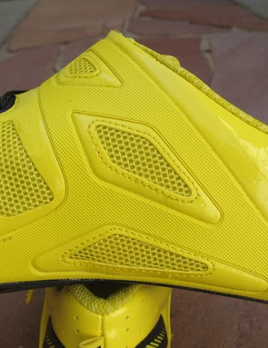 The TPU-reinforced panels on the revised Mavic Zxellium should provide a little more support for 2012