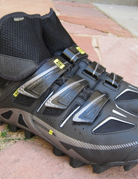 Mavic will add two new winter cycling shoes to the range for 2012: the mountain bike-oriented Drift (pictured) and the Frost for roadies