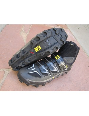 Mavic equip the Drift with an aggressive outsole tread for more secure purchase on snow