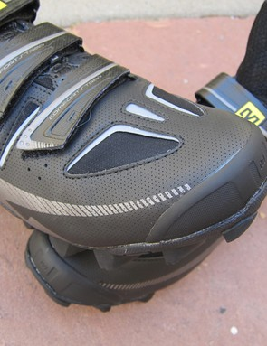 The reinforced toe on the Mavic Drift should also help block a bit of cold winter wind