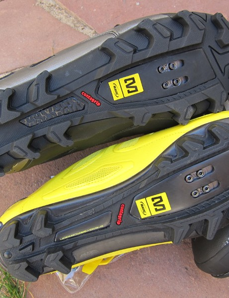 The Drift's sole is notably chunkier than on Mavic's standard mountain bike shoes