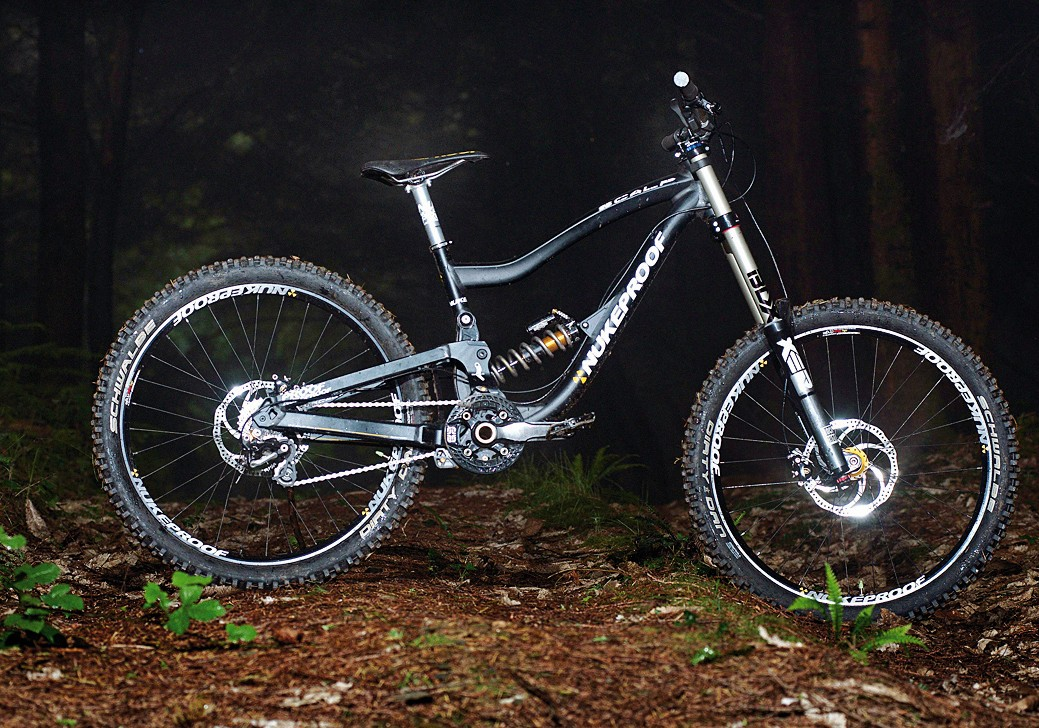 The Scalp is a thoroughbred downhill beast, equipped with top-notch kit
