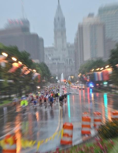 Gran Fondo Philadelphia carries on despite record rainfall