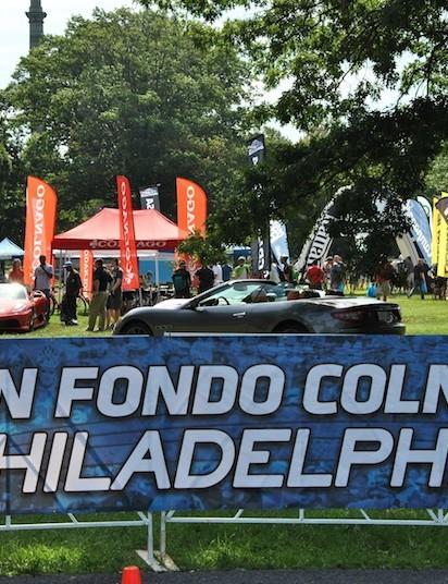 The Gran Fondo Colnago Philadelphia expo