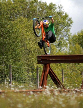 Danny MacAskill in 'Industrial Revolutions'