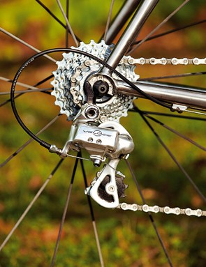 Opt for Campag Veloce and you'll have satisfyingly crisp shifting