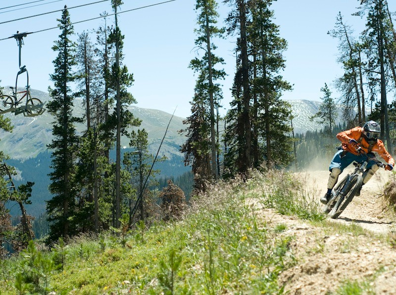The Trestle Bike Park terrain is perfect for showcasing the capabilities of today's trail bikes