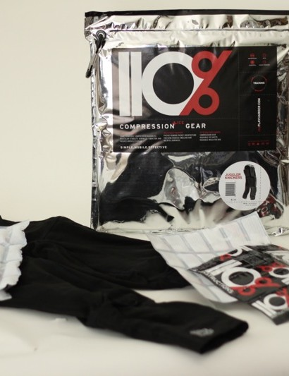 110% juggler's compression knickers with integrated ice pockets