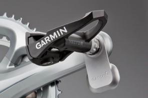 Garmin Vector easily attaches to a set of cranks