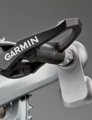 Garmin Vector easily attaches to a set of cranks