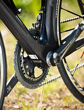 The Diablo is specced with top of the range Dura-Ace kit
