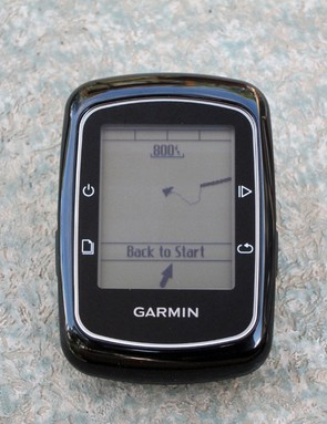 The Garmin Edge 200 doesn't include mapping functions per se but it still knows where you are and the 'back to start' feature can help you find your way home if you get lost