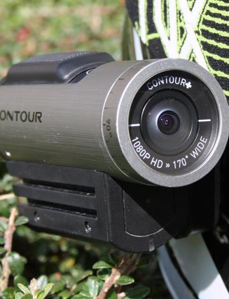 Contour+ helmet camera