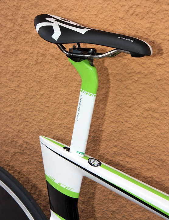 The new Cannondale Slice's perfectly upright