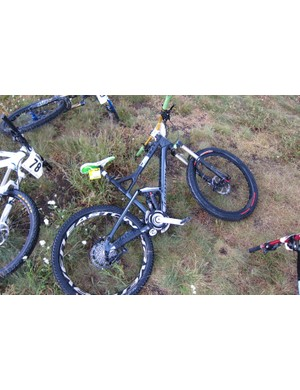 150mm all-mountain bikes were the order of the event