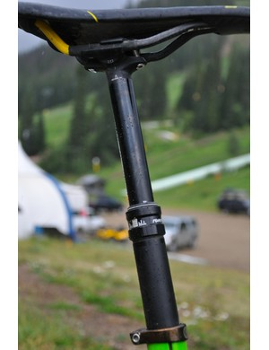 Schnell has played a key role in the development of RockShox's Reverb Stealth, which will be a stock post on the 2012 Slash