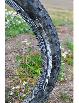 Easton's Haven Carbon rims are becoming commonplace in the world of all-mountain racing
