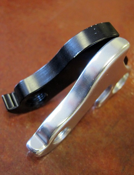 Wheels Manufacturing's aftermarket aluminum derailleur hangers are often just a touch thicker than stock units
