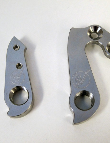 Wheels Manufacturing now have titanium derailleur hangers for select Cervélo models. Buyers should be warned that the titanium material might be a little too strong to actually save the dropout in a bad crash but for the Cervélo owner who has everything, this could be another item to add to the list