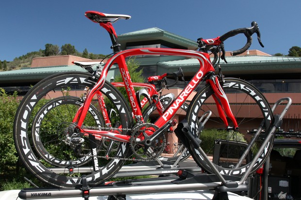 Bissell are among the best equipped teams on the US domestic circuit, using the same Pinarello Dogma framesets as Movistar and Caisse d'Epargne