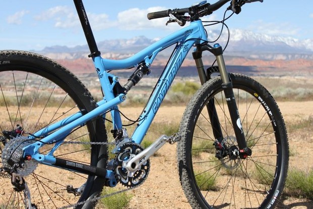 29ers like this Santa Cruz Tallboy continue to drive mountain bike sales in America