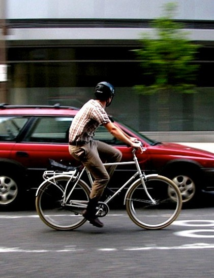 Americans in metro areas are turning to bikes, because they're faster, cheaper and better for you than cars