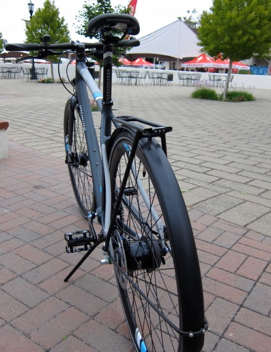 Svelte racks and fenders come standard on the Eleven
