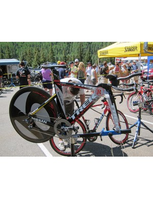 Levi Leipheimer (RadioShack) stuck with his usual Trek Speed Concept to take the win on stage 3