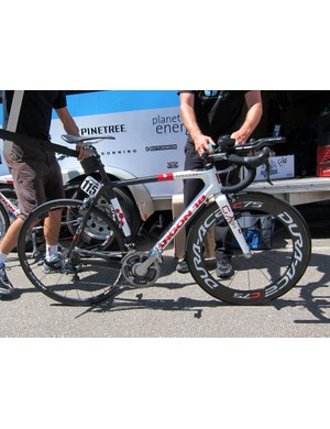 Spidertech-C10 riders used a mix of time trial and hybrid setups for stage 3