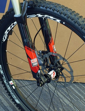 Schwalbe Nobby Nic 2.25in tyres on Fulcrum Red Power wheels