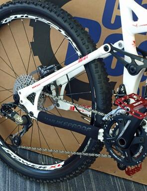 Vitus's V-Link four-bar suspension design
