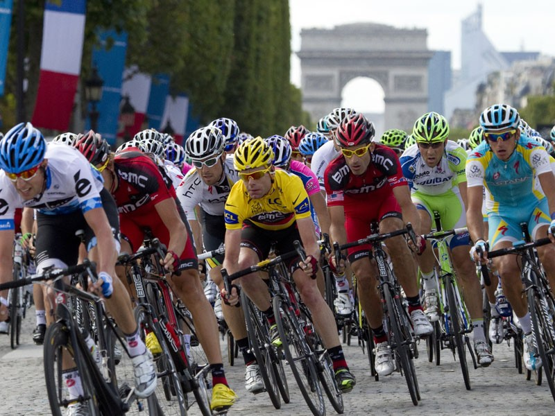 This year's Tour de France had just one positive test