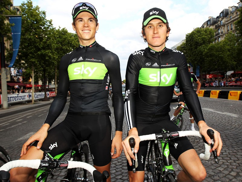 Ben Swift and Geraint Thomas will lead Team Sky in the Tour of Britain