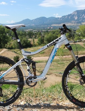 Giant's 2011 Reign is one feature short of a perfect spec — a chainguide solution