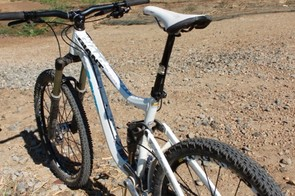 The Reign is at home in the bike park and out on the trail