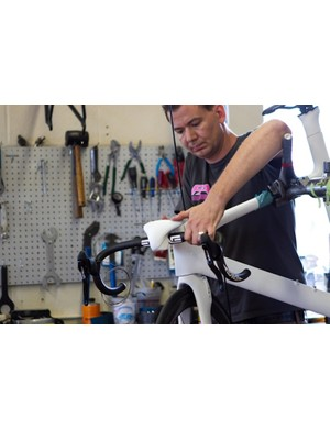 Assembling the Toyota Prius Project bike