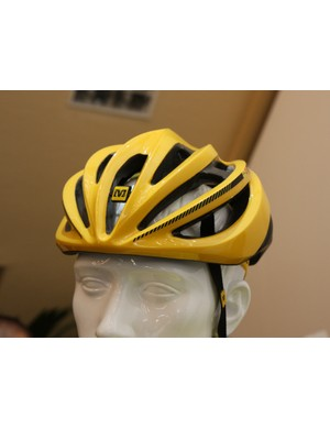 Mavic concentrated on rider comfort when designing their new helmet range