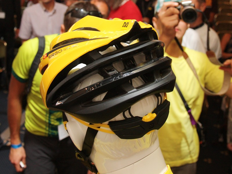 Exhaust ports are especially generous on the new Mavic Plasma SLR helmet