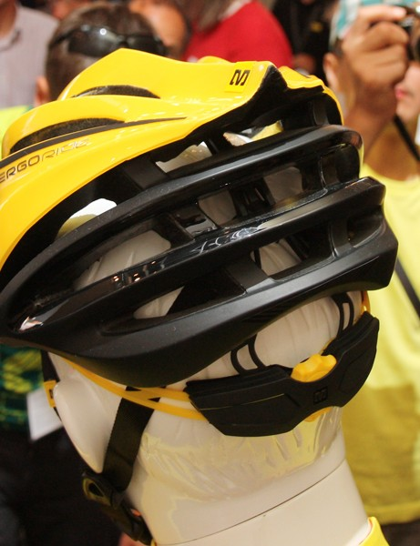 Exhaust ports are especially generous on the new Mavic Plasma SLR helmet