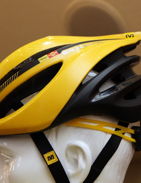 Styling on the new Mavic Plasma SLR strikes us as rather derivative. Take away the logos and this view definitely reminds us of other lids