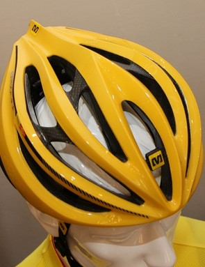 Ventilation looks to be very good on Mavic's new Plasma SLR helmet