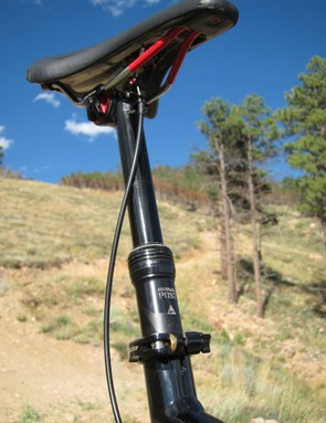 The three-position Specialized Command Post comes stock on the new EVO